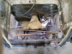 steering column before