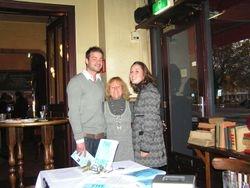 My fantastic stepson....Lennard & his lovely partner Danielle