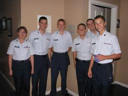 2Lt Porter Mitchell award and Squadron 33rd Anniversary July 2011