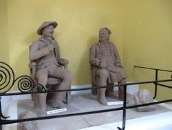status inside the heritage park