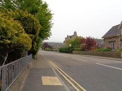 Main street in Fochabers