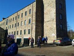Old mill at Grandholm