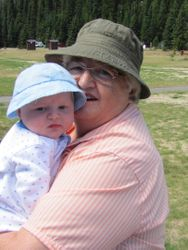 Devon with Grandma
