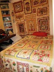 Katrina's quilt work