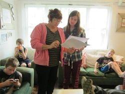 Bethne and Annaleise talk