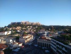 Pogled na trg Monastiraki