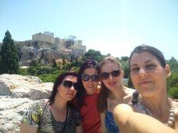 Pogled na Akropolj