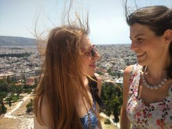 Pogled na grad sa Akropolja