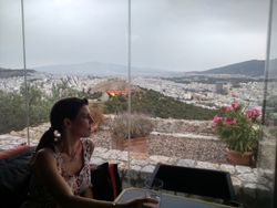 Pogled sa brda Likavit
