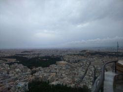 Panorama sa brda Likavit
