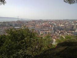 Gradska panorama, Zamak, Lisabon