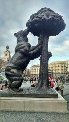 Kapija Sunca (Puerta del Sol), statua Medved i jagodino drvo, Madrid