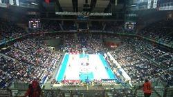 Palacio Deportes, kosarkaska utakmica Real Madrid-Zalgiris, Madrid