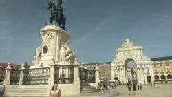 Trgovacki trg (Praca Docomercio), Lisabon