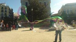 Plaza de Orijente, iza Kraljevsko pozoriste, Madrid