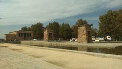 Zapadni park (Paque del Oeste), Debodov hram, Madrid