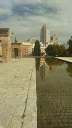 Zapadni park (Paque del Oeste), Debodov hram 2, Madrid