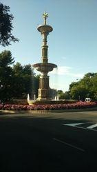 Zapadni park (Paque del Oeste), fontana, Madrid