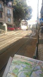 Okolina Zamka Sv. Djordja, tramvaj broj 28, Lisabon