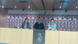 Santiago Bernabeu, press room, Madrid
