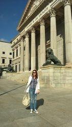 Trg sudova (Plaza de las Cortes), spanski parlament, Madrid
