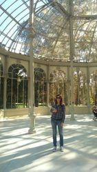 Retiro park, Kristalna palata, Madrid