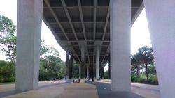 Singapur- ispod mosta