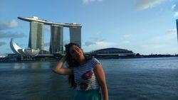 Singapur- kej Marina Bay