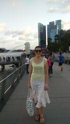 Singapur- Merlion park