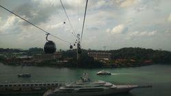 Singapur- Cable car