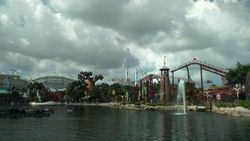 Singapur- Sentosa- Universal studios