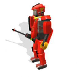 Red Warrior Thunderzord