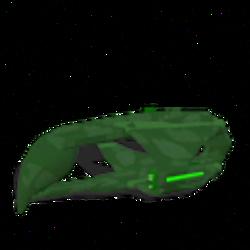 Romulan D'deridex-class