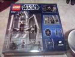 LEGO Star Wars 9492 TIE Fighter box, back