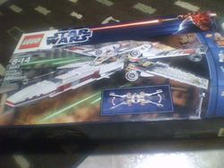 LEGO Star Wars 9493 X-wing Starfighter box, front