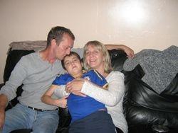 With Nanny & grandad x