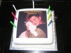 My 7th Birthday cake