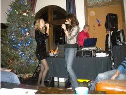 Karaoke at Christmas