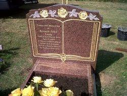 Balmoral red granite memorial