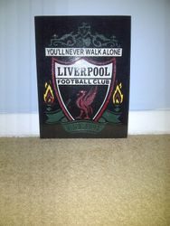 Liverpool hand drawn and cut