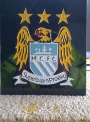 Manchester City football club badge