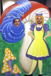 Timm and Tyler pose as alice