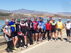 A ride at Santomera Reservoir