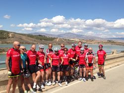 B ride at Santomera Reservoir - Sunday kit