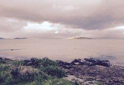 Sunspot on Small Isles, Jura