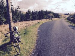 The road to Craighouse, Jura