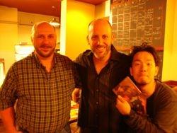Me with Adam Rafferty and Akihiro Tanaka