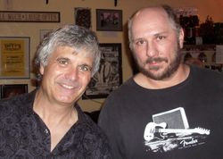 me and Laurence Juber