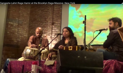 Sangeeta Lahiri at Brooklyn , New York