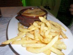Steak Pie & Chips.